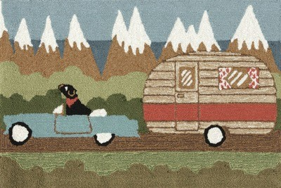 Camping Dog
