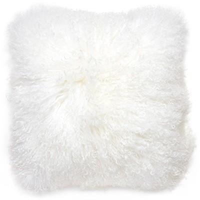 Jonathan Adler Mongolian Lamb Hair White or Black 18