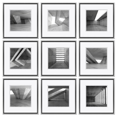 Black & White Architectural's - Shapes