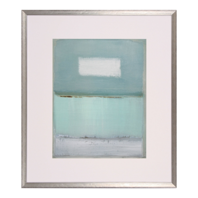 Azure Blue I Lithograph