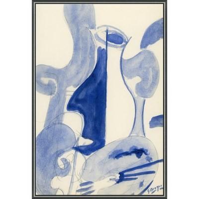Blue Wine Carafe