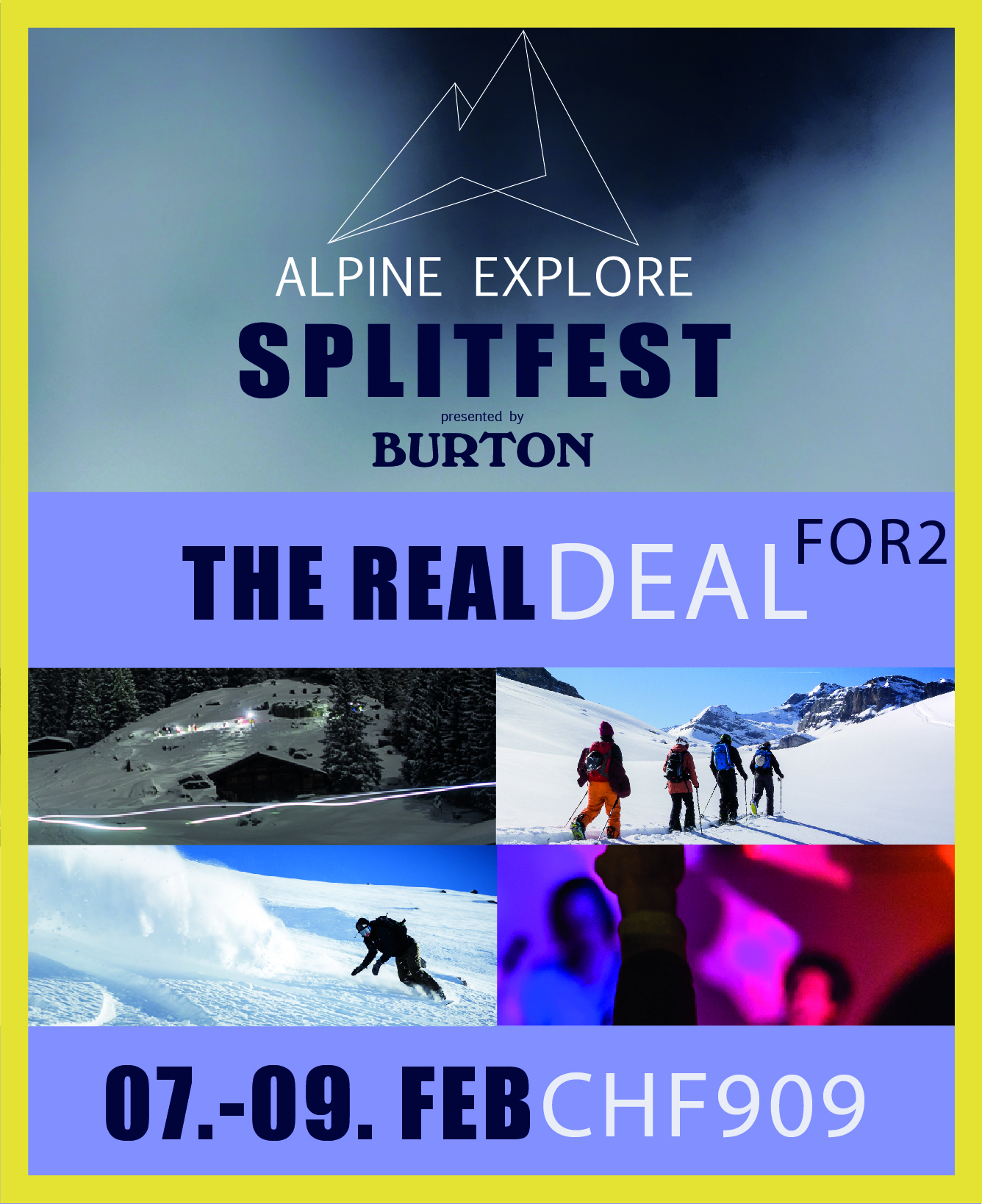 The Real Deal FOR2 - Alpine Explore Splitfest 2020 004