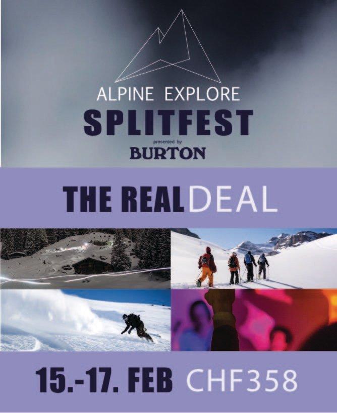 The Real Deal - Alpine Explore Splitfest 2019