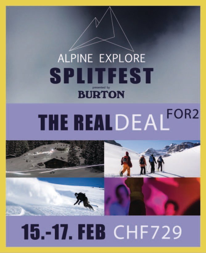 The Real Deal FOR2 - Alpine Explore Splitfest 2019 004