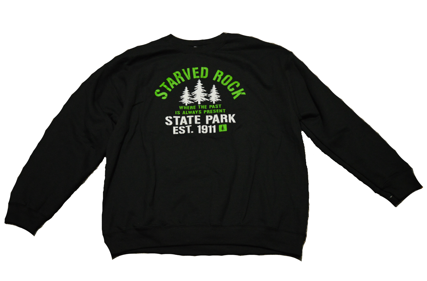 Starved Rock Crewneck Sweatshirt