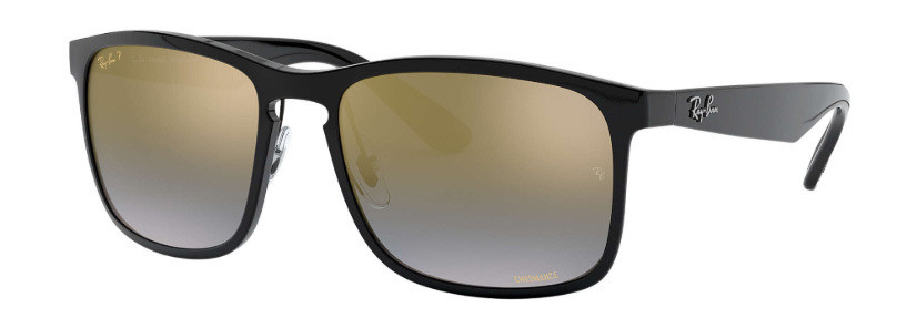 Ray Ban 4264 Chromance Black Blue Gradient Mirror