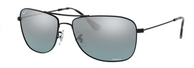 Ray Ban 3543 Grey Mirror Chromance Polarized