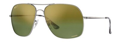 Ray Ban 3587 Chromance Gunmetal Green Mirror