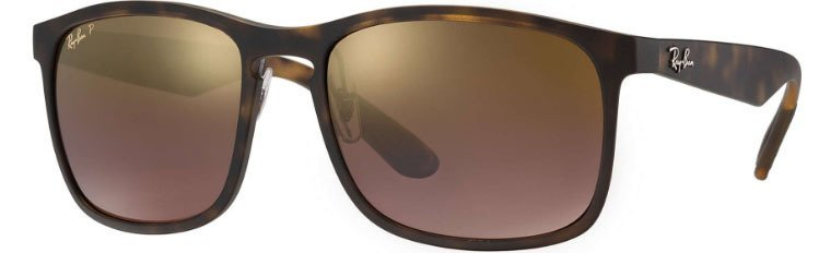 5add903b42440 Ray Ban 4264 Chromance Tortise Purple Mirror