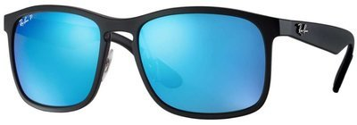 Ray Ban 4264 Chromance Black Blue Mirror