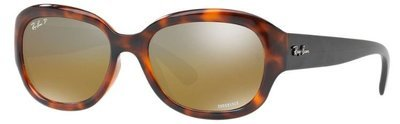 Ray Ban RB4282 Chromance Tortoise Black Polarized Brown Mirror