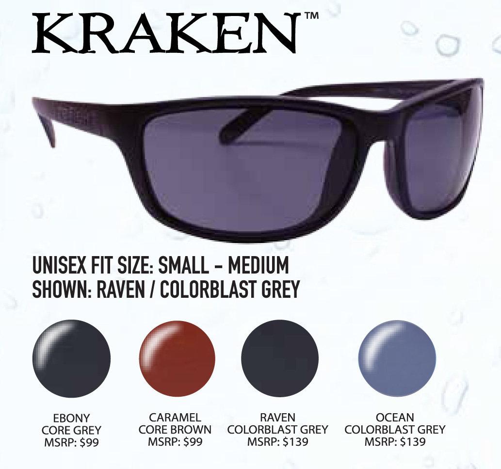 512b9e1eb9 Unsinkable Kraken Ebony   Core Grey