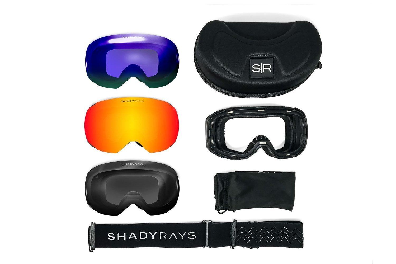 47c2742044 Shady Rays Snow Goggles Bluebird Polarized Pack   Snow Goggle Bundle