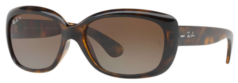 ee0d853c2ebfe Ray Ban Jackie Ohh Tortoise Polarized Brown Gradient
