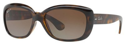 Ray Ban Jackie Ohh Tortoise Polarized Brown Gradient