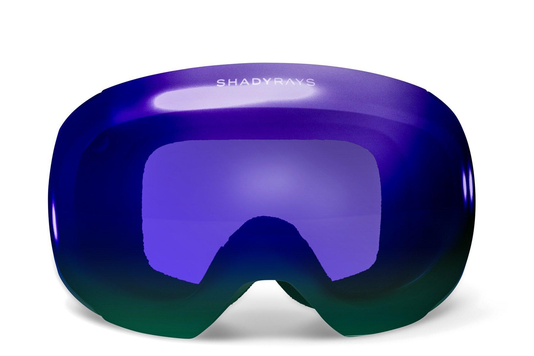 4c0696842e Shady Rays Snow Goggles Lens  Blue Peak Polarized