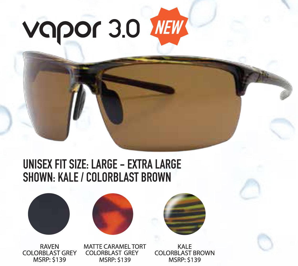 6aaa00ce9f7 Vapor 3.0 Series. UPC739189994748. BrandUnsinkable Polarized. Unsinkable  Vapor 3.0 Kale   ColorBlast Brown