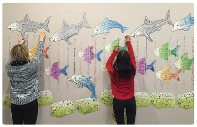 The Shark Cage Mural Kit