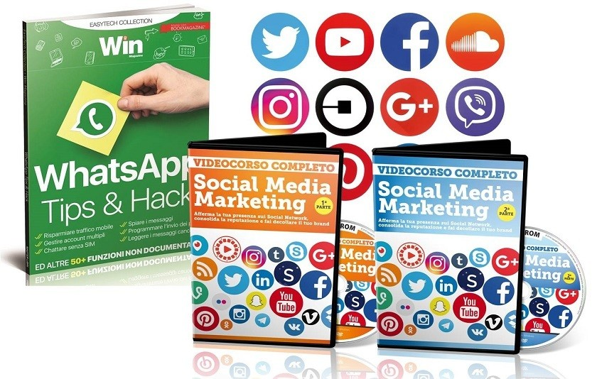VIDEOCORSO SOCIAL MEDIA MARKETING + WHATSAPP- TIPS & HACK