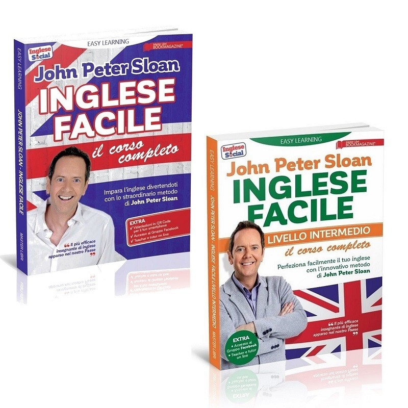 EASY LEARNING - INGLESE FACILE - il corso completo + livello intermedio