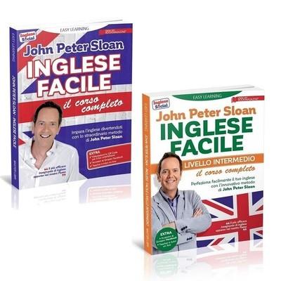 EASY LEARNING - INGLESE FACILE - il corso completo + livello intermedio