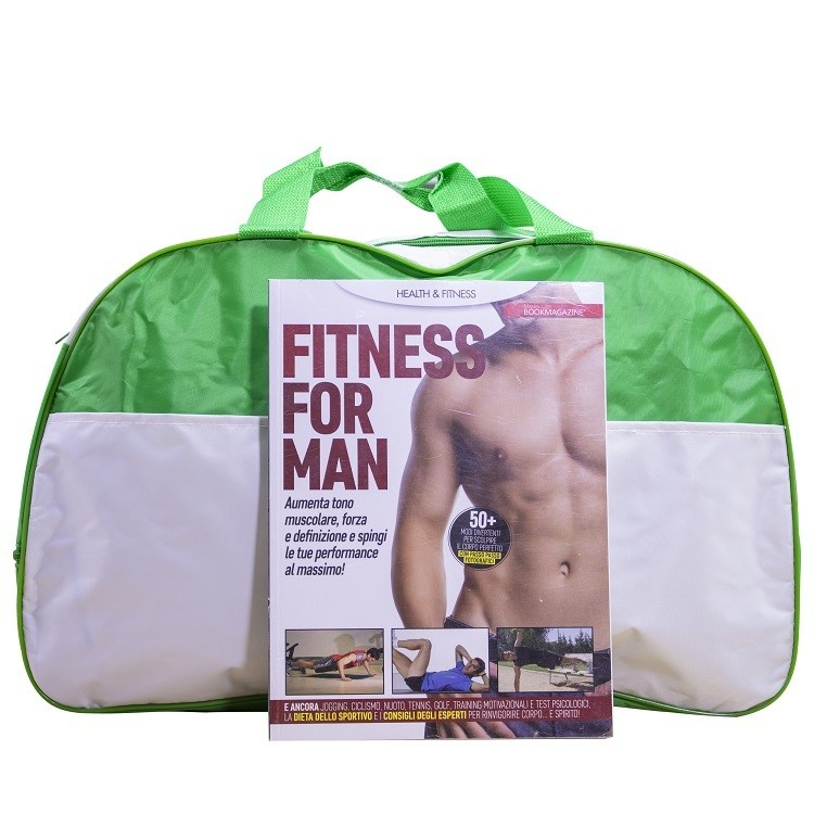 FITNESS FOR MAN + SPORT BAG VINTAGE
