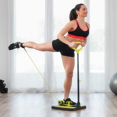 Il manuale del fitness + Pedana HOME FIT