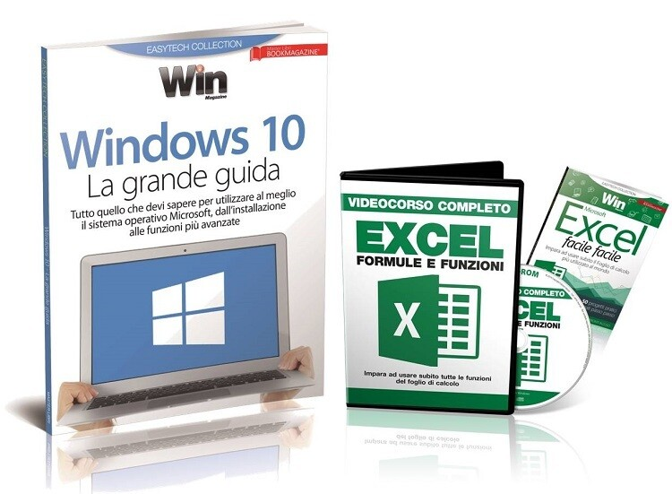 VIDEOCORSO EXCEL + WINDOWS 10 La grande guida