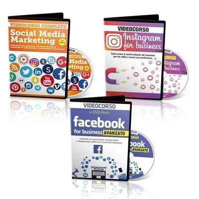 VIDEOCORSO FACEBOOK + INSTAGRAM + SOCIAL MEDIA MARKETING