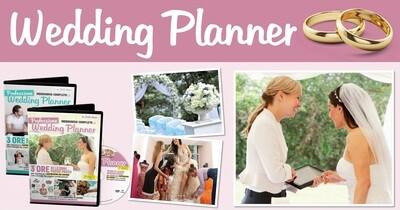 VIDEOCORSO WEDDING PLANNER DVD + LIBRO CASE DA SOGNO
