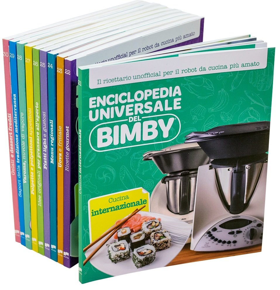 Enciclopedia Universale del Bimby® (volumi 21-30)_CUT PRICE