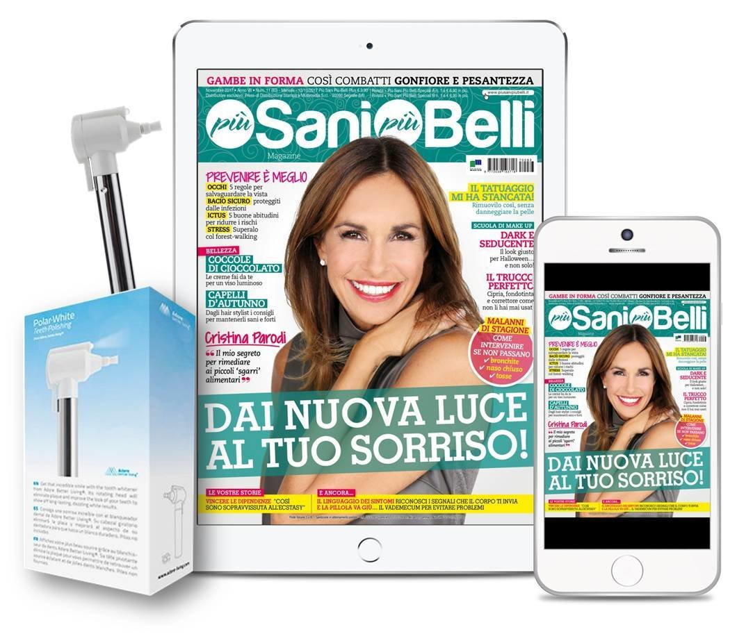 Kit Sbianca sorriso + Abbonamento PSPB digitale 12 numeri