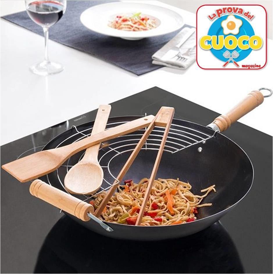 Set WOK La Prova del Cuoco Magazine + abbonamento digitale a 26 numeri