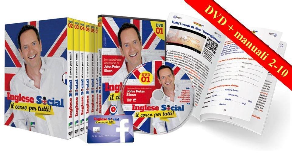 Inglese Social - il corso per tutti in DVD (uscite 2-10)