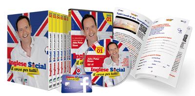 Inglese Social - il corso per tutti in DVD (COMPLETO uscite 1-10)