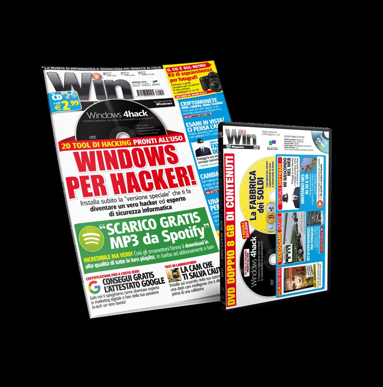 Win Magazine (Rivista + DVD DL)  - Abbonamento 1 anno