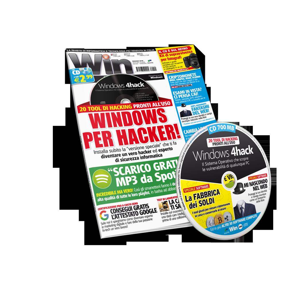 Win Magazine (Rivista + CD)  - Abbonamento 1 anno