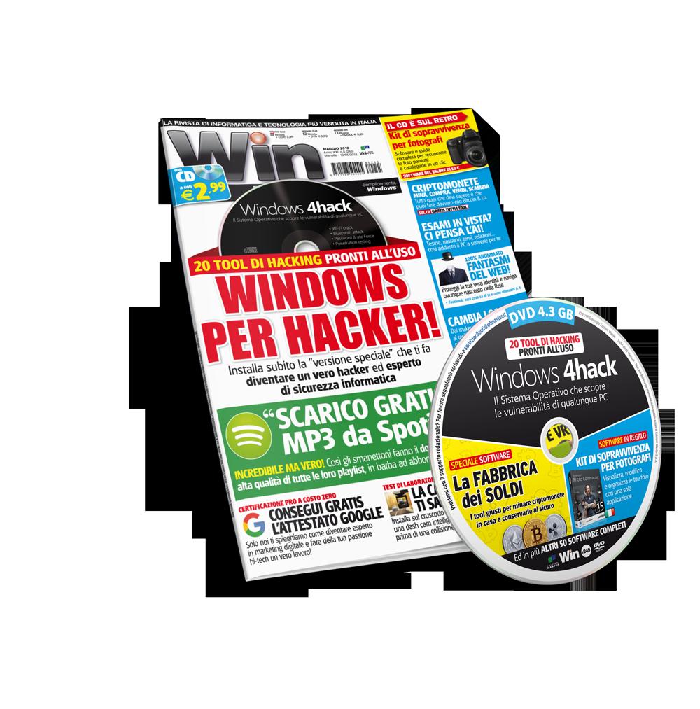Win Magazine PLUS (Rivista + DVD)  - Abbonamento 1 anno