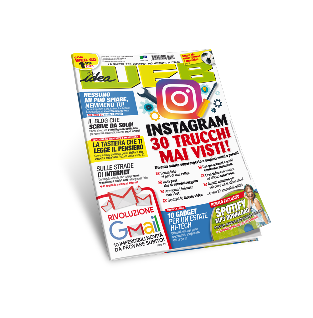 Idea Web (Rivista + WEB CD) - Abbonamento 12 numeri