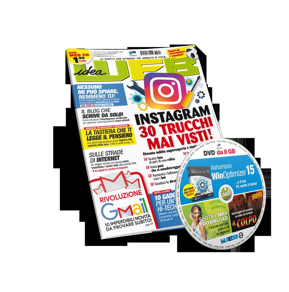 Idea Web (Rivista + DVD) - Abbonamento 12 numeri