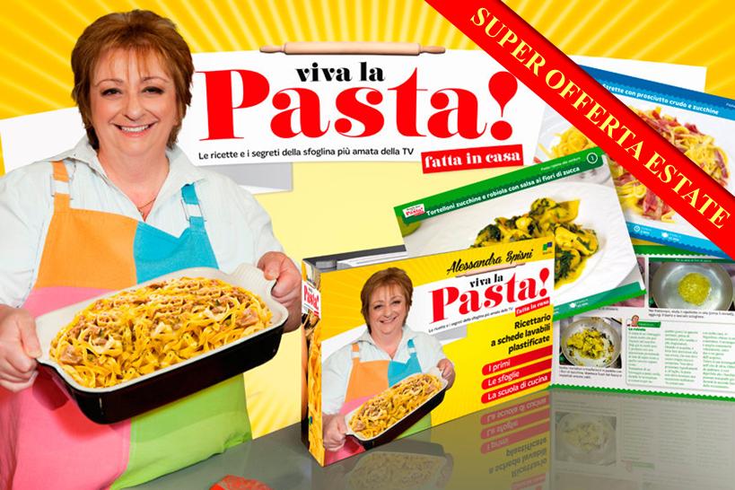 Ricettario Spisni: Viva la Pasta!_ESTATE