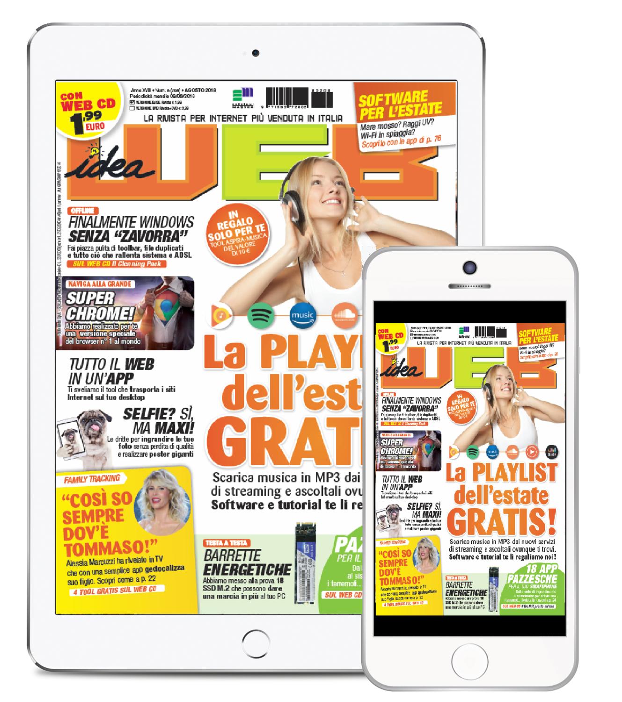 Idea Web (Rivista + WEB CD) - Abbonamento DIGITALE 12 numeri