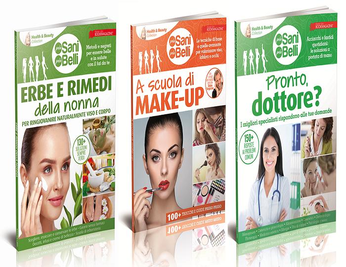 Health & Beauty Collection - OFFERTA 3 volumi salute e bellezza