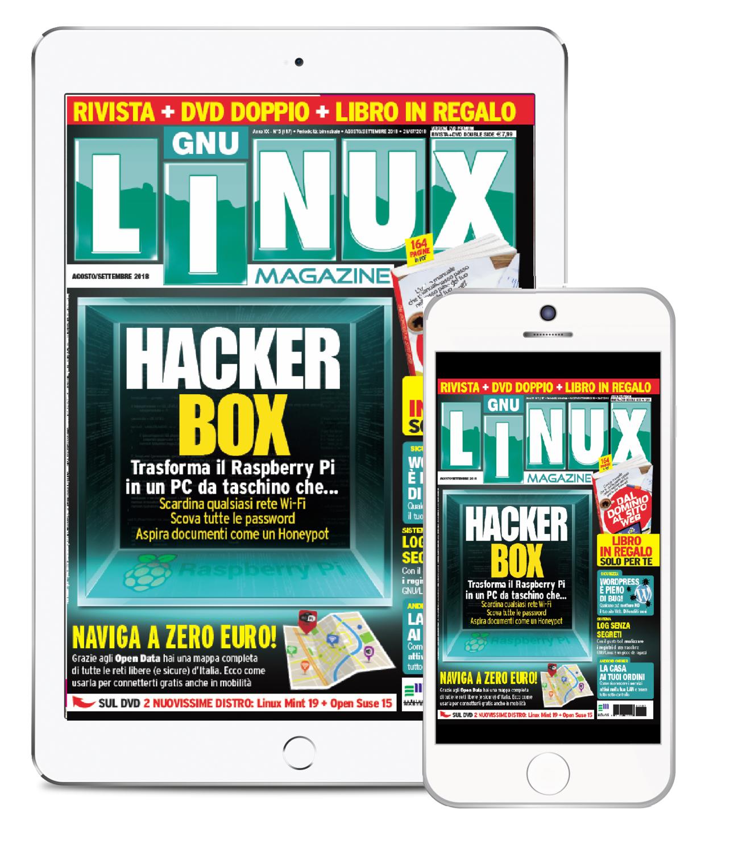 Linux Magazine + WEB DVD - Abbonamento DIGITALE 6 numeri