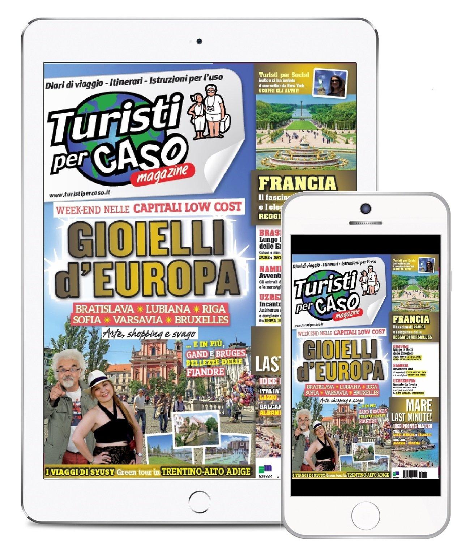Turisti per Caso - Abbonamento DIGITALE 12 numeri