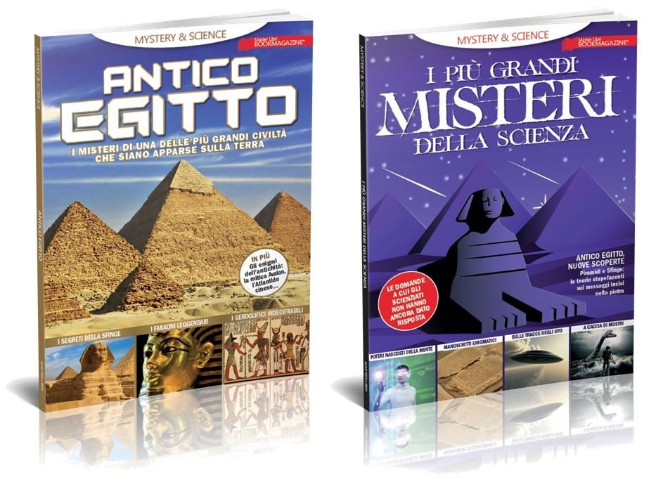 Mystery & SCIENCE - OFFERTA 2 volumi scienza & mistero
