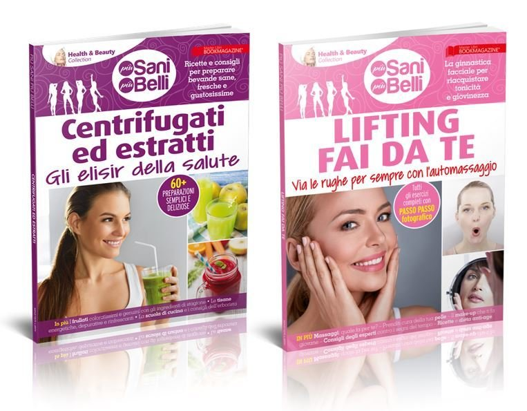 Health & Beauty Collection - OFFERTA 2 VOLUMI: CENTRIFUGATI ED ESTRATTI + LIFTING FAI DA TE