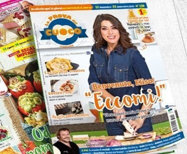 La Prova del Cuoco magazine:  abbonamento a 12 numeri