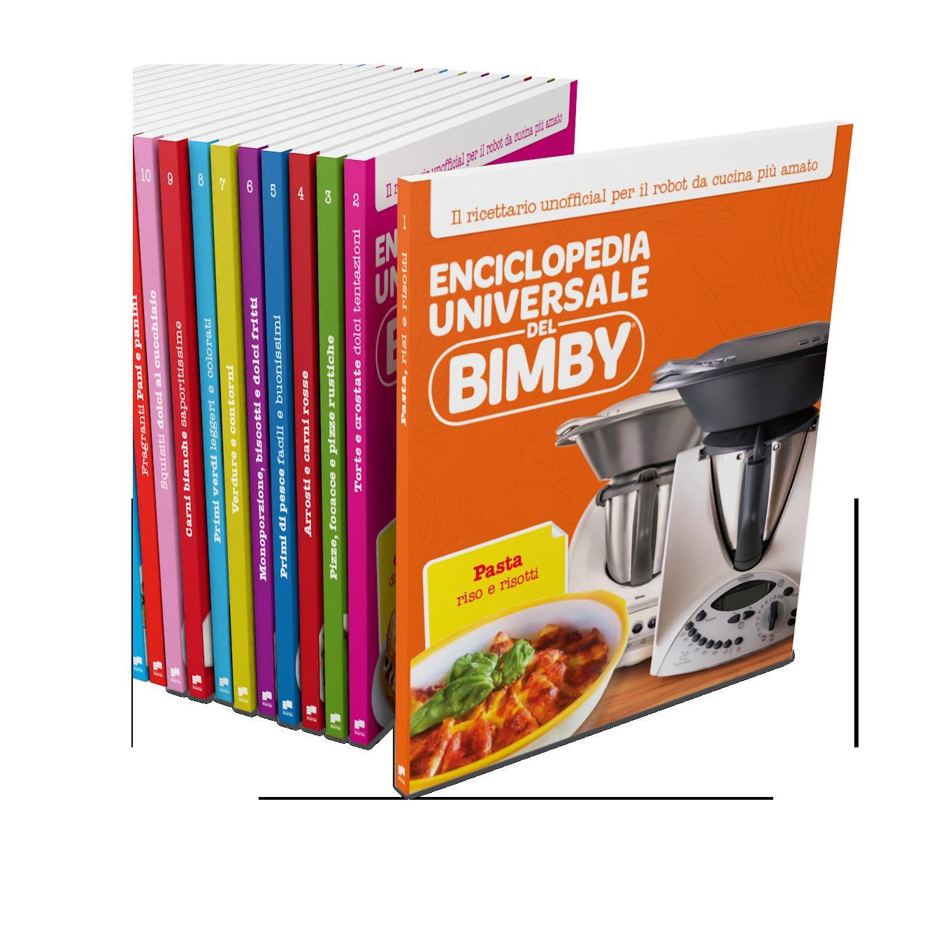 Enciclopedia Universale del Bimby® (volumi 1-10)