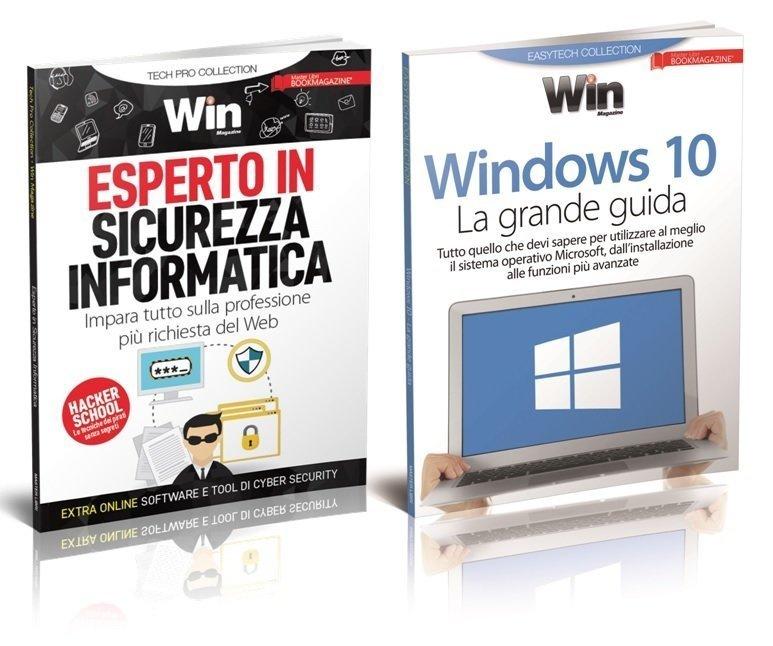 TECH COLLECTION - ESPERTO IN SICUREZZA INFORMATICA + WINDOWS 10 La grande guida